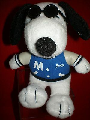 Snoopy Met Life Promotional Plush Joe Cool With Sunglasses