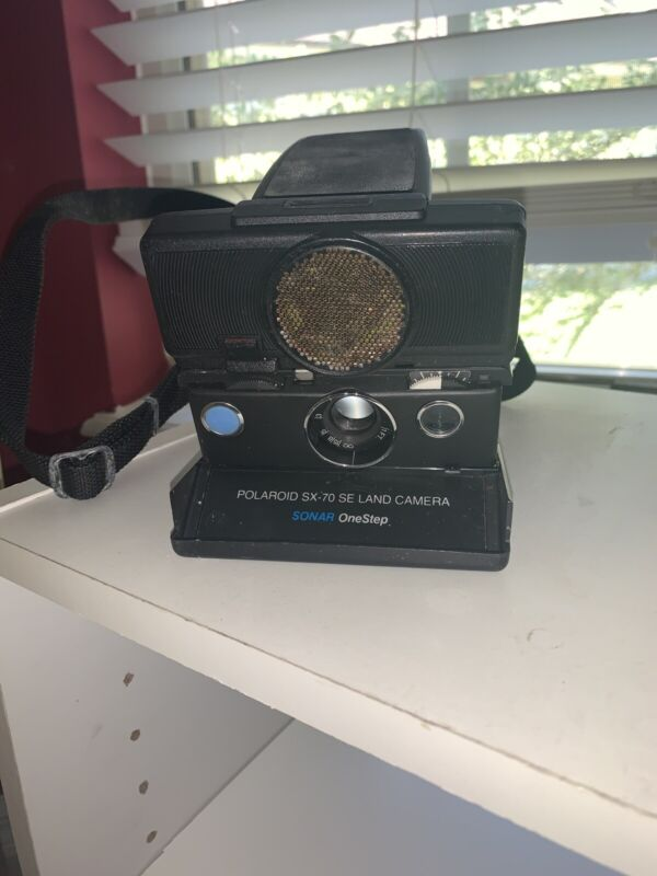 POLAROID SX-70 Alpha1 SE Land Camera NOT TESTED