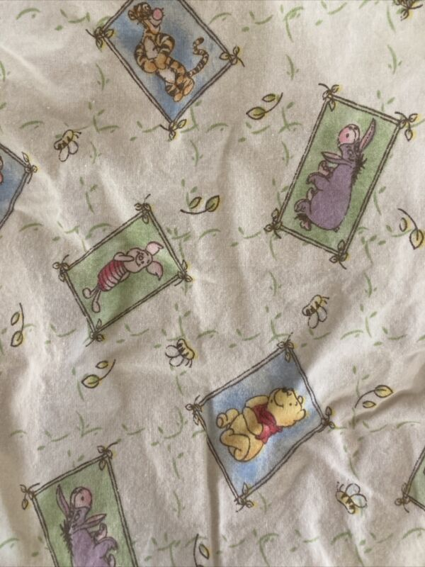 Winnie the Pooh  Crib Toddler Sheet~Cotton~Fitted  HARD TO FIND