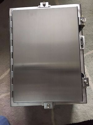 Hoffman Stainless Steel Enclosure A-16h1208ss6lp  Model 83600