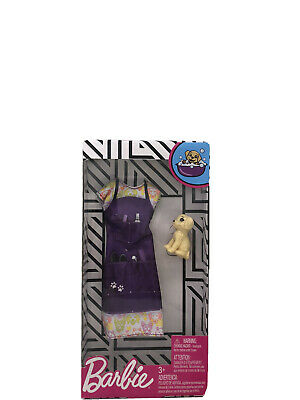 Mattel Barbie Careers Pet Groomer Fashion Pack Dress & Puppy Dog NEW