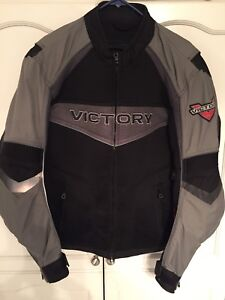 Victory motorcycle jacket - large.