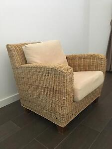 Cane sofa set Acton North Canberra Preview