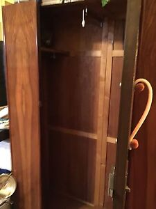 Beautiful full size Mahogany wardrobe Strathcona County Edmonton Area image 3