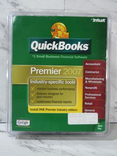 QuickBooks Desktop Premier 2007 Brand New