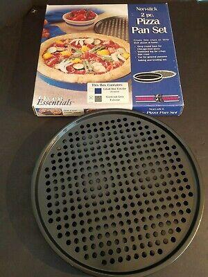 Nordic Ware 2-teilige Ofen Lebenswichtige Güter Antihaftend Pizza Pfannen