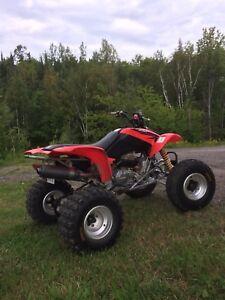 2007 Honda 400ex for trade 4wd bike
