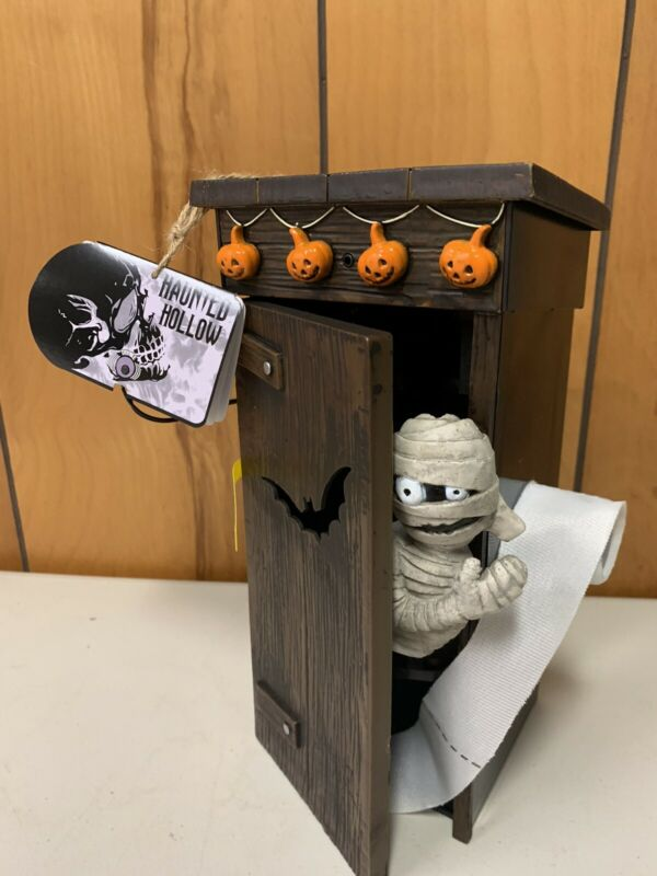 Halloween 2020 Mummy In Out House Motion Sensor Passing Gas Makes Funny Comments