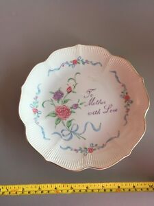 To Mother With Love plate