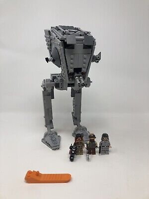 Lego 75153 Star Wars AT-ST Walker Set With Minifigures And Brick Separator