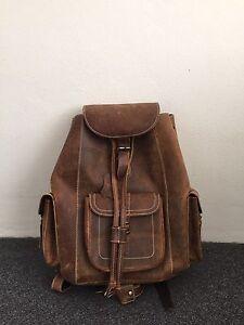 leather backpack in Sydney Region, NSW | Bags | Gumtree Australia ...