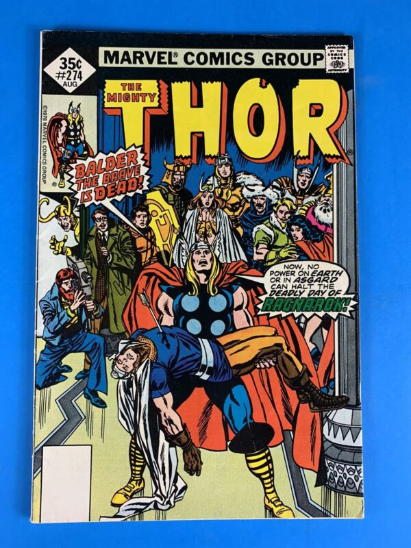 Thor #274 (Death of Balder)🔥