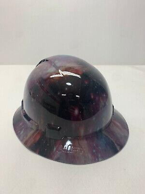 Hydro Printed Galaxy Lift Briggs Full Brim Vented Hard Hat