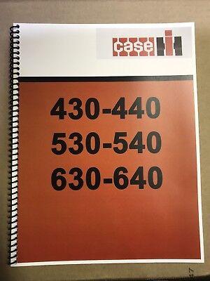 630 J.i. Case Tractor Technical Service Shop Repair Manual