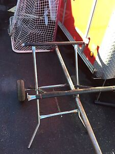 Go kart rolling stand