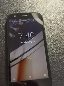 Motorola black model XT1032 unlocked used