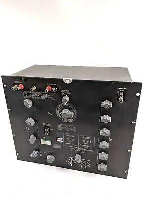 General Radio 1632-a Industrial Adjustable Series Parallel Inductance Bridge