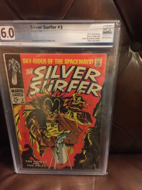 Silver Surfer #3 - PGX 6.0 1st app of Mephisto...The Power And The Prize!