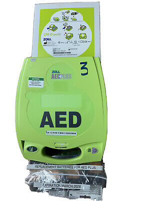 Zoll Aed Plus Defibrillator Package.
