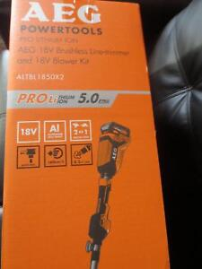 AEG 18V Line Trimmer and Blower Kit Sorell Sorell Area Preview