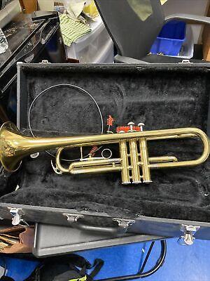 Lafayette Brass Trumpet W/Case