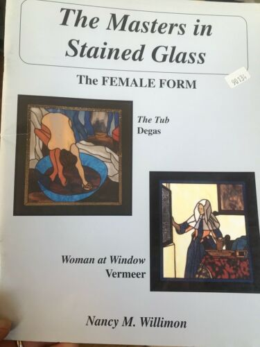The Masters in Stained Glass Patterns Book