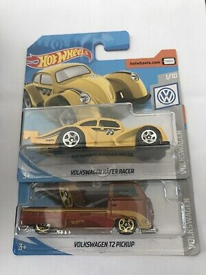 Hot Wheels Volkswagen Kafer Racer & T2 Pickup