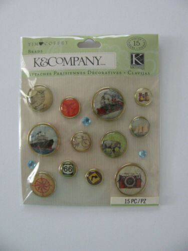 K & Company TIM COFFEY Brads TRAVEL 15 Pieces NIP FREE SHIPPING
