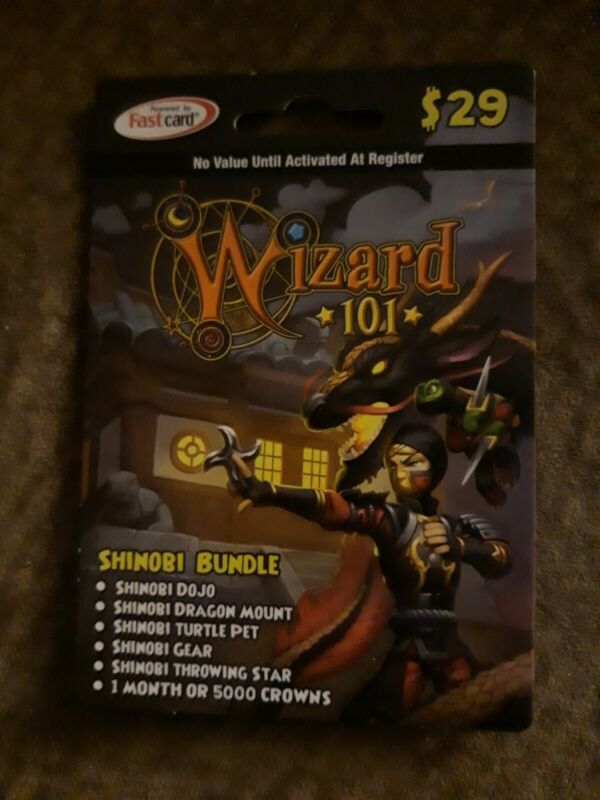 Wizard101 SHINOBI BUNDLE [Digital Delivery] 101