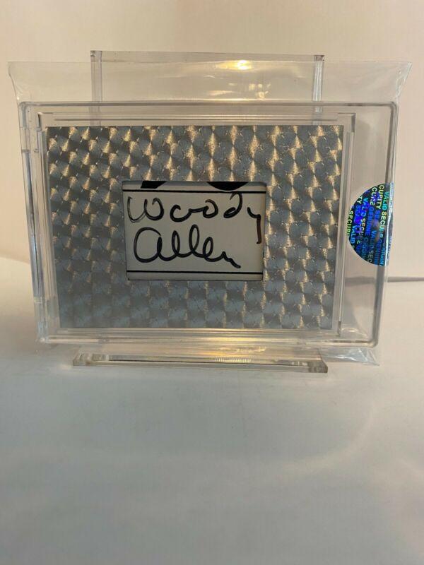 Woody Allen Autograph JSA Certified