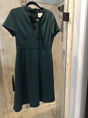 Modcloth Green 20's Christmas Dress RARE Vintage Pinup Mad Men - Fifties Clothes For Men