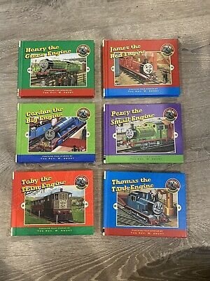 The Railway Series 1998 Lot Thomas Train James Percy Toby Gordon Books Set