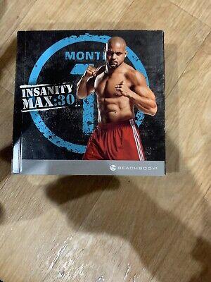 BEACHBODY INSANITY MAX:30  10 Dvd Set Max 30