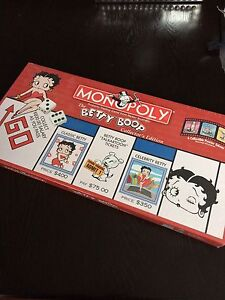 Betty Boop Collectors Edition Monopoly Cambridge Kitchener Area image 1