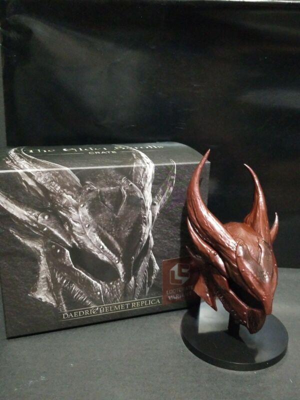 Elder Scrolls Oblivion Daedric Helmet Scale Replica Loot Gaming Crate Exclusive