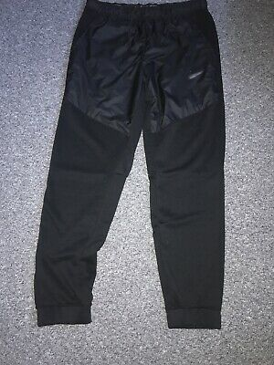 Nike Dri-Fit Black Joggers Size Medium Men's