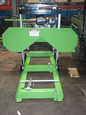 Bandsaw Mill Sawmill Band Sawmill Portable Sawmill 21 Cut 24 Feet Track 14hp