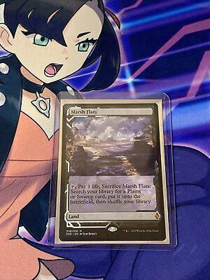 MARSH flats ~ expedition ~ Zendikar Rising Mtg Magic FeTcH Land Commander
