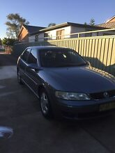 2001 Holden Vectra CD Green Valley Liverpool Area Preview