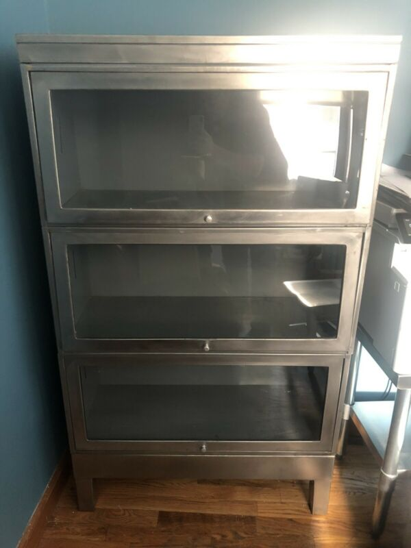 Stainless Steel Barrister Bookcase
