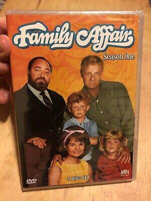 Family Affair - Season One, BN Sealed 5 DVD Set ( Brian Keith , Sebastian Cabot)