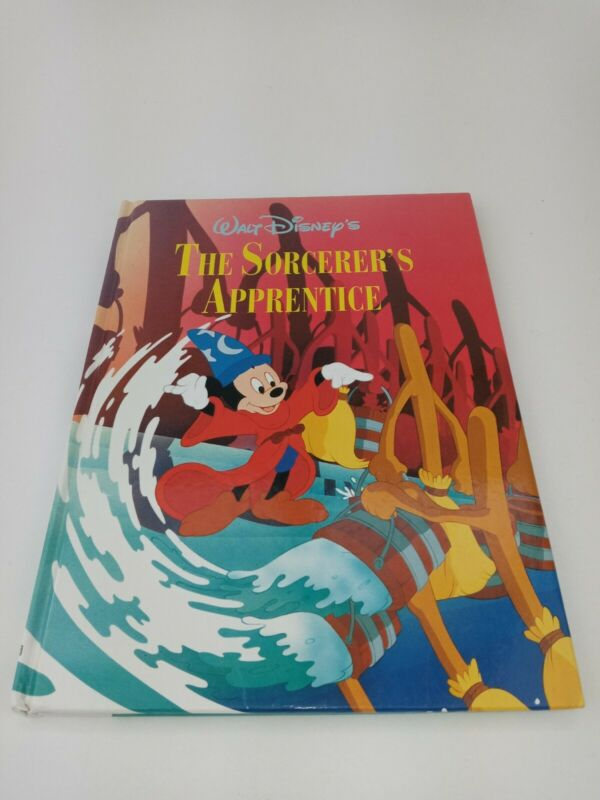 "Vintage 1992 Walt Disney Twin Books ""The Sorcerer"