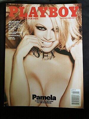 Playboy Magazine Jan/Feb 2016 - Pam Anderson - Last Nude Edition