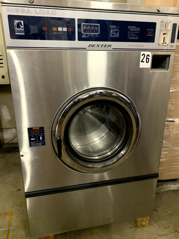 Used Dexter Mega Load Coin Laundry Commercial Washer Laundromat