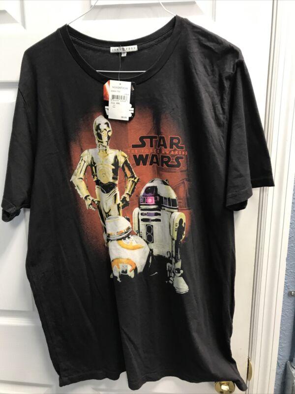 Junk Food Disney Star Wars  The Force Awakens T Shirt New Sz 2XL