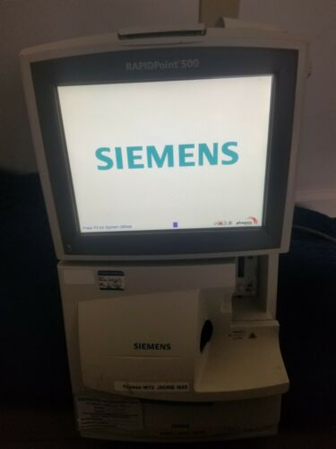 Siemens RapidPoint 500 Blood Gas Analysis System No Cartridge & needs O.S