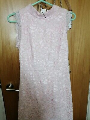 Ted Baker Beautiful Pink Lace Dress 2/10