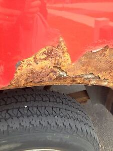 Rust Repair/Paint touch up -- 2007 Dodge 1500