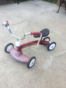 Rapid flyer scooter