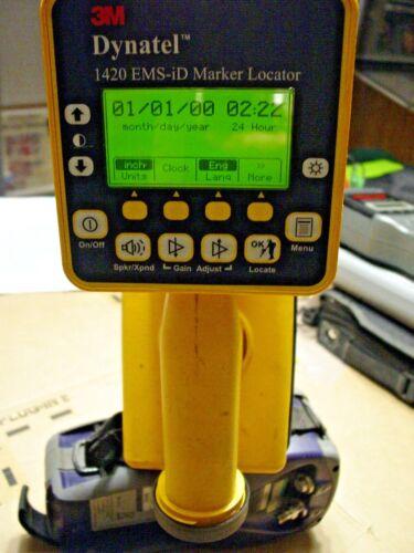3M Dynatel 1420 EMS-iD Marker Locator With   holder